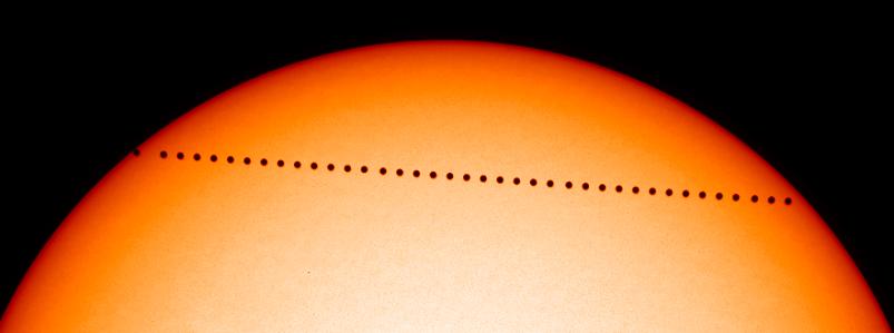 bservación del Transito de Mercurio