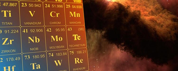 Origen de los elementos químicos