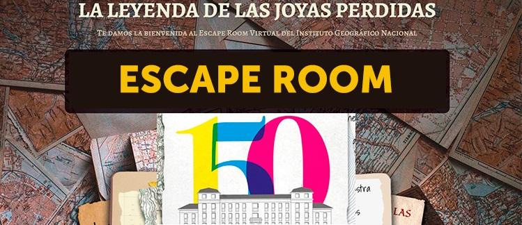 Escape Room geográfico del IGN