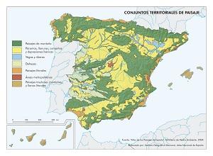 Conjuntos territoriales de paisaje