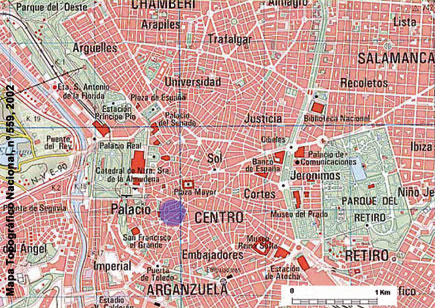 Espa a a trav s de los mapas for Catastro salamanca oficina virtual