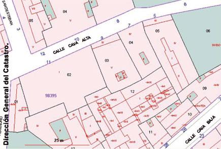 Espa a a trav s de los mapas for Oficina virtual del catastro