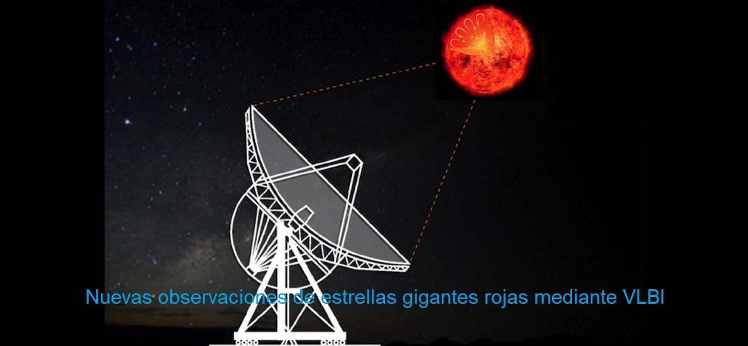 Nuevas observaciones de estrellas gigantes rojas mediante VLBI