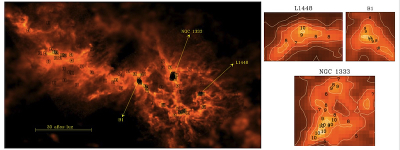 Una nueva técnica para estudiar regiones de formación estelar