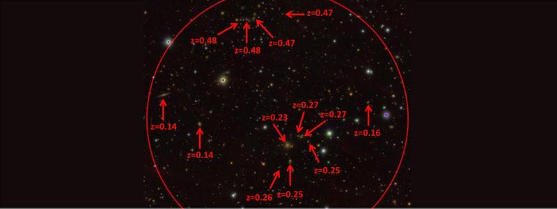 Nuevas estimaciones de distancias a galaxias lejanas