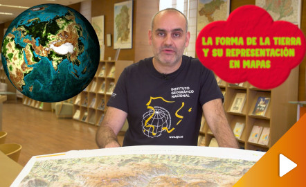 La forma de la Tierra y su representación en mapas