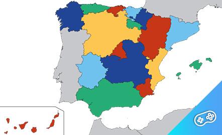Puzle. Comunidades autonómas españolas