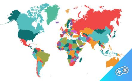 Puzle. Países del mundo