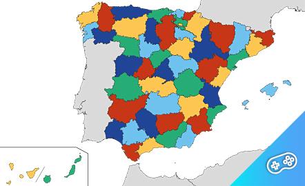 Puzle. Provincias españolas