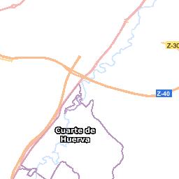Wikiloc - ruta Santa Fe-Barranco Las Almunias-La Plana Zaragoza ...